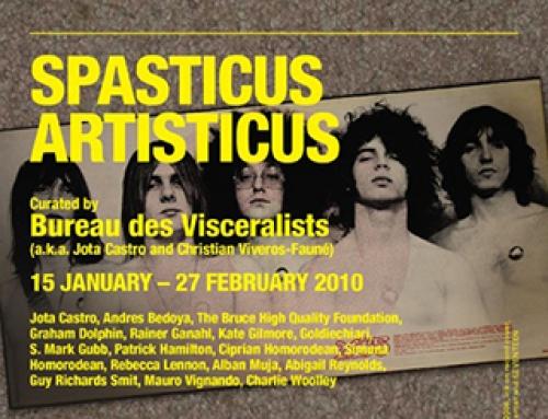 SPASTICUS ARTISTICUS – Ceri Hand Gallery,  Liverpool UK